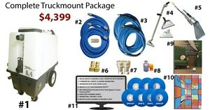 Electric Truckmount Carpet Grouted Tile Cleaning 0 Down 121 m