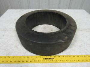 Superior Tire 18x6x12 1 8 Press On Forklift Wheel Tire Hard Rubber Smooth
