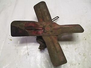 Farmall Ih 140 Tractor Fan And Water Pump