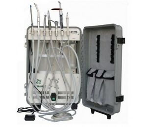 Portable Dental Unit Deluxe Complete Package