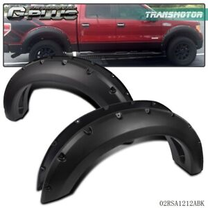 Fender Flares Pocket Rivet Bolt On Style Smooth For Ford F150 2004 2008 2006