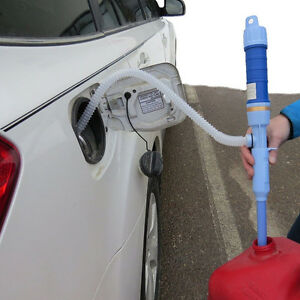 Electric Battery Syphon Powered Pump Diesel Water Gas Siphon Pump Hose Portable