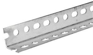 Boltmaster Slotted Angle 1 1 2 X 1 1 2 X 96 14 Ga Bulk Pack Of 5