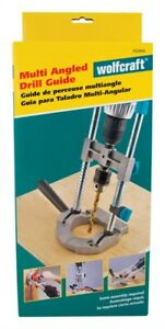 Wolfcraft Drill Guide 3 8 Fits All 1 4