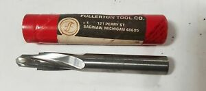 10 Mm Carbide Step Reamer Drill 6314 t 006 Rev a Fullerton Tool Co New Usa
