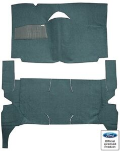 1959 Edsel Corsair 4 Door Hardtop Standard Seats Replacement Loop Carpet Kit
