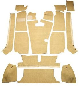 1968 1980 Mg Mgb Complete Cutpile Replacement Carpet Kit