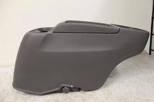 2011 2015 Honda Odyssey Van Front Floor Center Console W 4 Cup Holder Gray