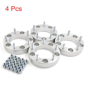 4 Pcs 5 Lug 1 5 Thickness Wheel Spacers Adapters For 2012 2017 Dodge Ram 1500