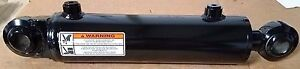 New Welded Cylinder 3 Bore X 8 Stroke With Danuser Bearing Ends Only 5 Left