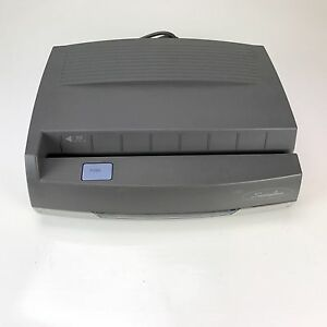 Swingline Electric 3 Hole Punch Medium Duty 8 1 2 Centers 50 Sheets 350md