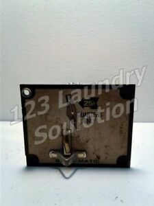 Front Load Washer Set o matic 25 Coin Drop Acceptor For Wascomat Used