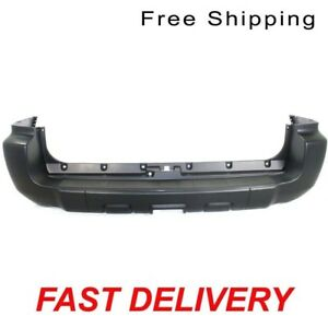 Primered Rear Bumper Cover W Trailer Hitch Fits 06 09 Toyota 4 Runner To1100253