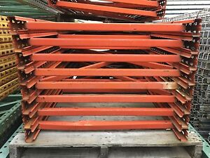 Pallet Rack Upright 33 1 2 X 120 Orange Paltier Style