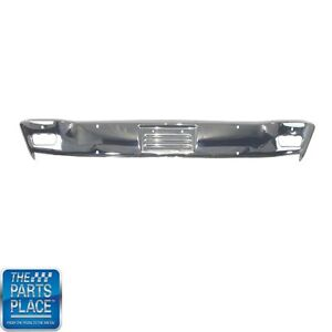 1965 Plymouth B Body Front Bumper Chrome