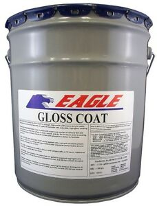 Acrylic Concrete Sealer 5 Gal Film High Gloss Coat Clear Wet Look Solvent based