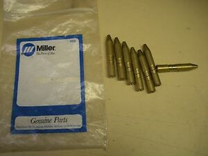 Miller Wire Guide Tube 045 Lot Of 7