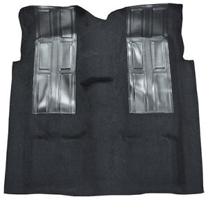 1972 1973 Ford Ranchero Gt 4 Sp With 2 Black Inserts Replacement Loop Carpet