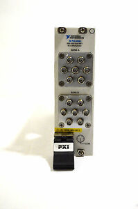 National Instruments Pxi 2596 Ni Rf Multiplexer Switch Card 26 5ghz Dual 6x1