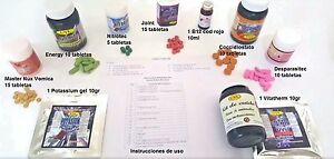 Uvl Cuido Complete Package For 5 Birds And Day By Day Instructions