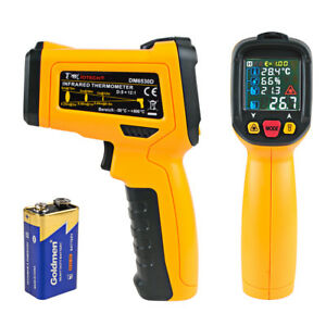 Dm6530d Non contact Digital Laser Infrared Thermometer Gun Handheld