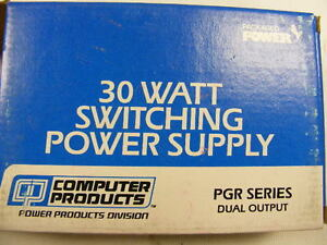 Packaged Power 30 Watt Switching Power Supply With Dual Output 12v 2 Brand New