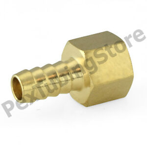 20 1 2 Hose Barb X 3 8 Female Threaded Brass Adapter Fittings oil water air