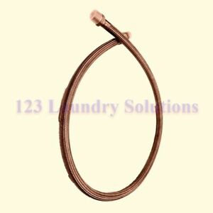 New Washer Hose Stm W ftg Ss 1idx74 For Cissell F200196