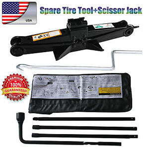 Spare Tire Tool Kit Replacement Tools For Chevrolet Gmc Cadillac 2t Scissor Jack