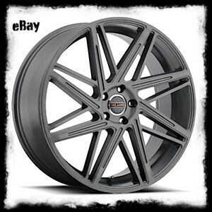 18 X8 5 Inch Anthracite Milanni 9062 Blitz Wheels Rims Fits Bmw X3 X5 5x120 35
