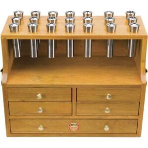 Sb1448 South Bend Oak Collet Chest For R 8