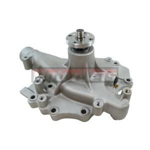 Bbf Ford 429 460 High Volume Satin Aluminum Water Pump Mustang Cobra Racing