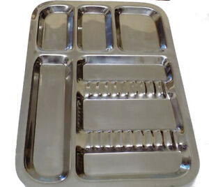 Stainless Steel Dental Lab Instrument Tray 13 9 X 10 1 3 Lb Best Quality