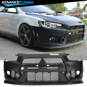Fit 08 15 Lancer Fq Fq440 Style Front Bumper Cover Conversion Pp Polypropylene