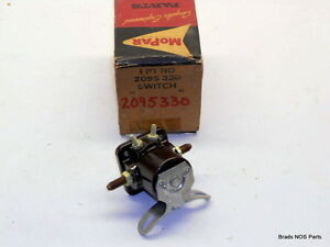 Nos Mopar 1960 62 Plymouth Dodge With Auto Trans Starter Switch 2095330