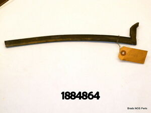Nos Mopar 1957 59 Plymouth Dodge Right Front Qtr Window Weatherstrip 1884864