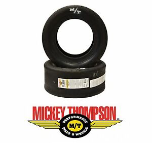 X2 22x8 13 Mickey Thompson Et Drag Slick Tires For Import Sport Compact Drag