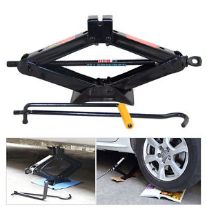 Heavy Duty 2 Ton Wind Up Jack Stands For Auto Car Suv Van W Crank Speed Handle
