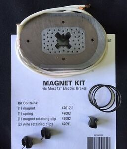 K71 105 Replacement 12 Electric Trailer Brake Magnet Kit