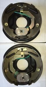 10 3 5k Electric Trailer Brake Assemblies Left Right Sides Fast Shipping
