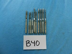 Codman Zimmer Surgical Orthopedic Bunnell Tendon Strippers Lot Of 10