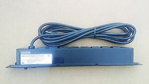 Bud Industries Pos 194 s Power Outlet Strip 125 Vac 15 Amps 8 Outlets