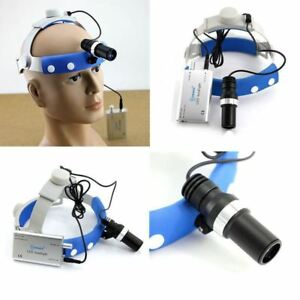 Led Headlight For Dental Loupes Medical Binocular Camping Magnifier Lamp