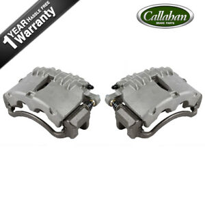 Front Quality Oe Brake Calipers Pair Kit 2003 2004 Ford Mustang Base Gt
