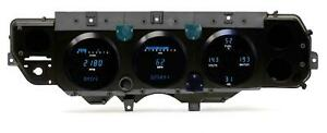 Dakota Digital 70 72 Chevelle Dash Gauges Teal Vfd3 70c cvl t Ls