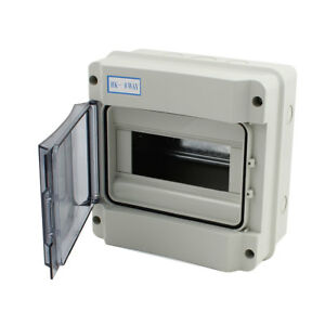 185x185x105mm Waterproof 8 Way Distribution Box Switch Cover For Circuit Breaker