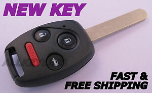 Oem Honda Accord Keyless Entry Remote Fob Oucg8d 380h a In New Case W Uncut Key