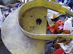 John Deere Ae12109 Square Baler Pickup Shield Guard End New Old Stock