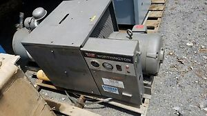 Worthington 15hp Rotary Vane Air Compressor