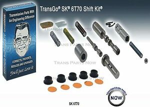 Transgo Sk 6t70 6t75 Transmission Shift Kit Valve Body Kit 2007 12 Gen 1 124165t